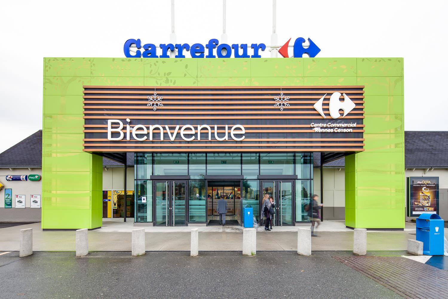 Photo Flins Carrefour