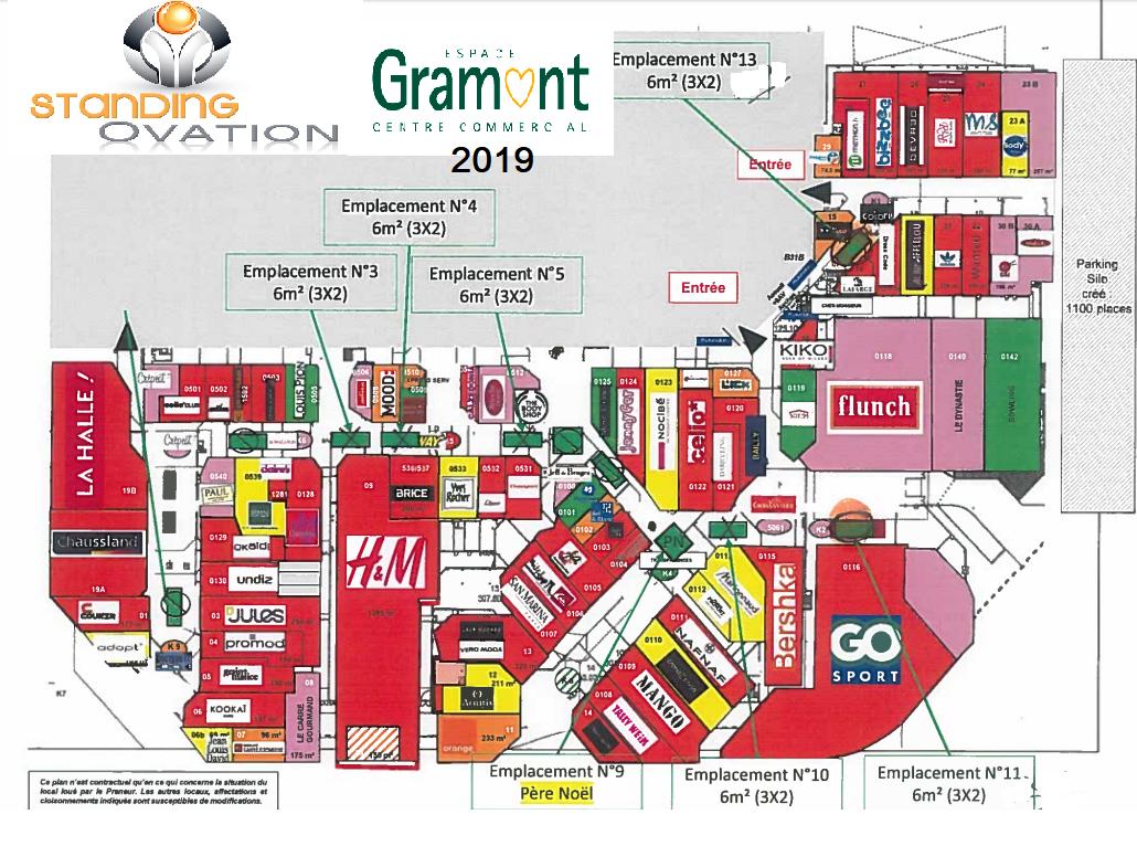 Plan Gramont Auchan