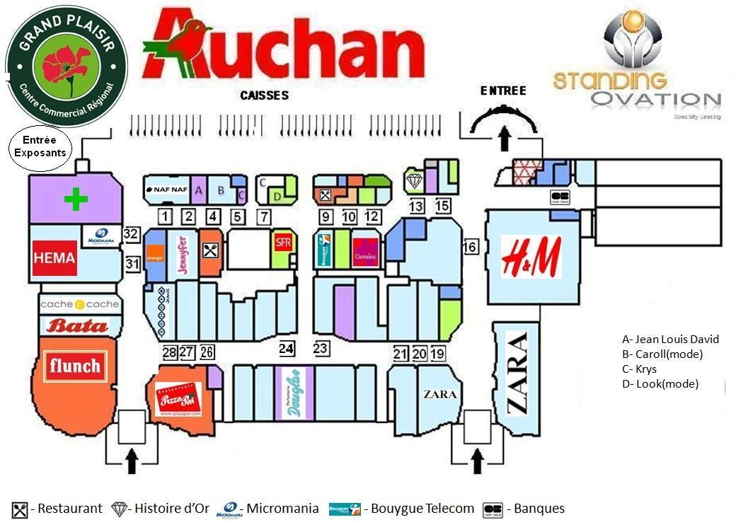 Plan Grand Plaisir Auchan
