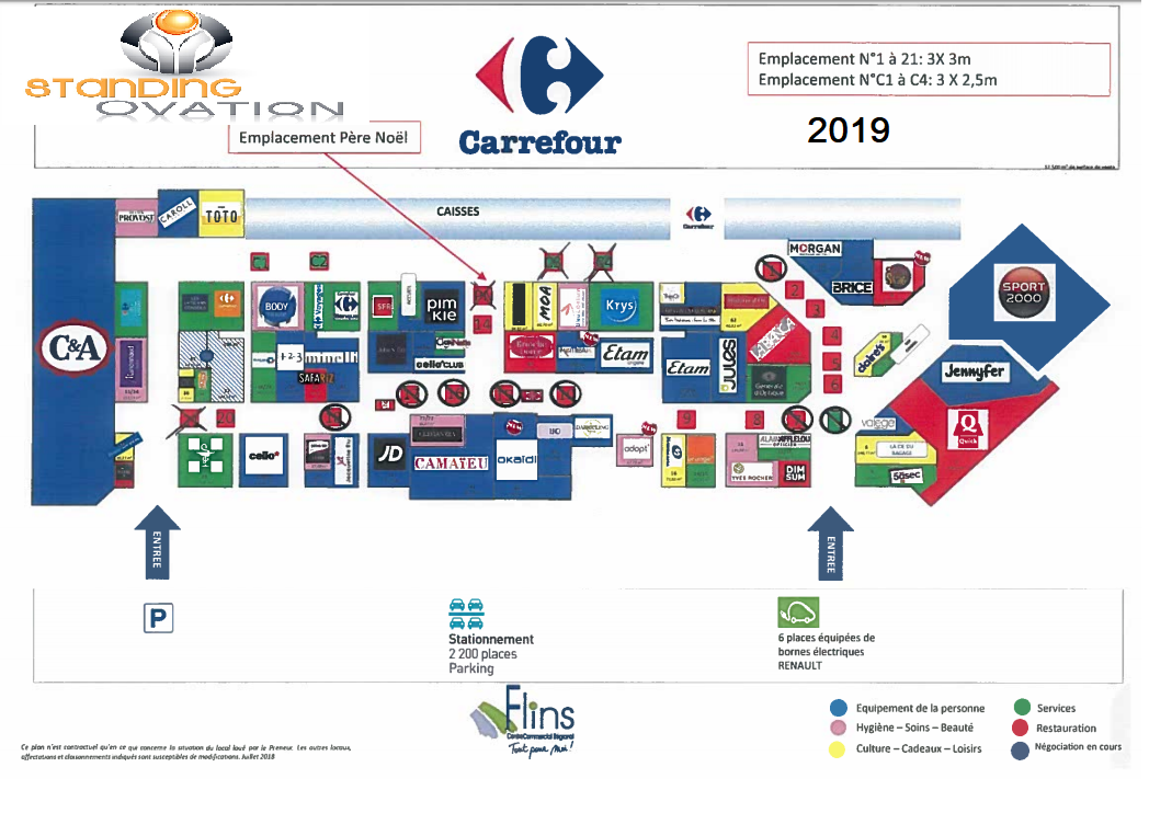 Plan Flins Carrefour