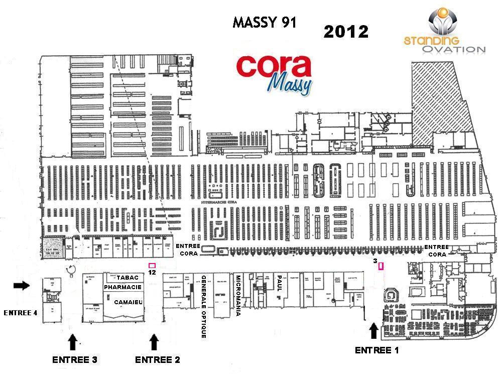 Plan Massy Cora