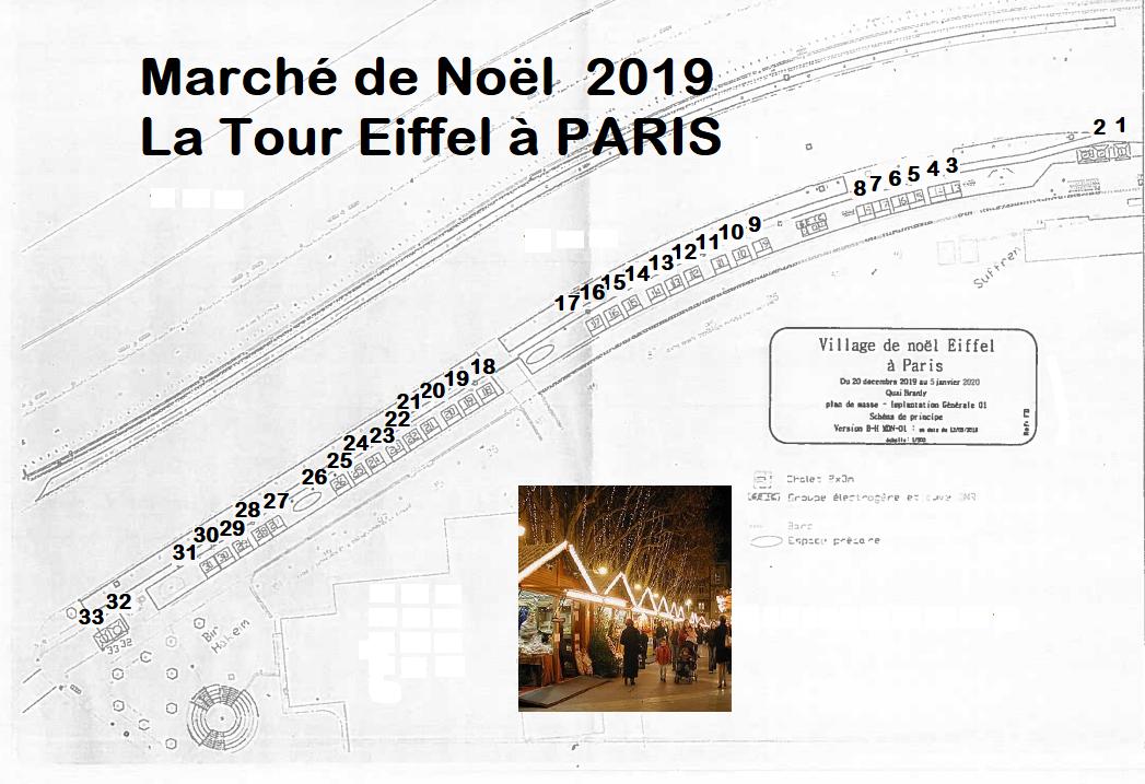 Plan La tour Eiffel Bir Hakeim Exterieur